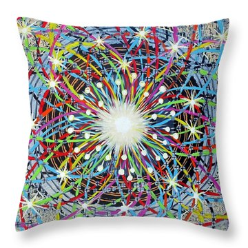 Amazing Powers Of Observation Throw Pillow