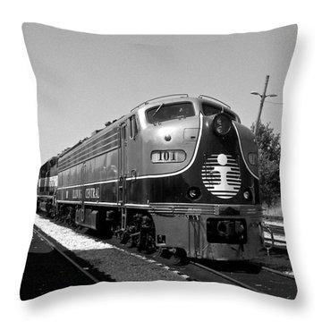 Amazing Trainyard Throw Pillow