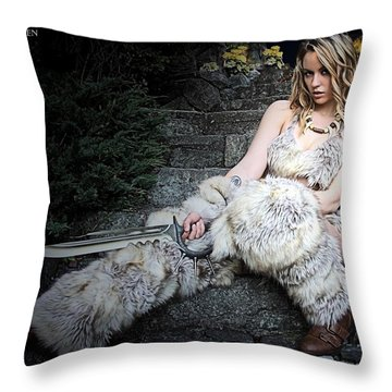 Amazon At Rest Throw Pillow