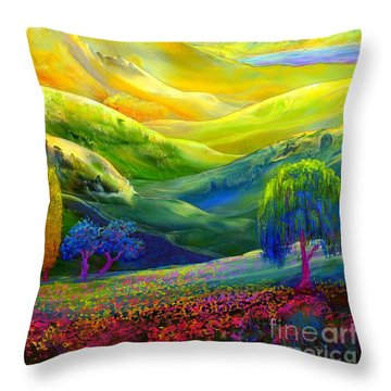 Plains Throw Pillows