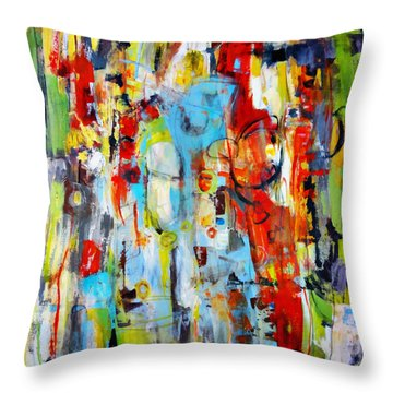 Ambidextrous Throw Pillow