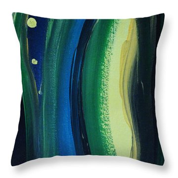 Ambien Throw Pillow by Arlene Sundby