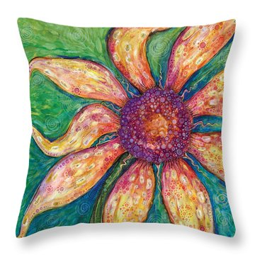 Ambition Throw Pillow by Tanielle Childers