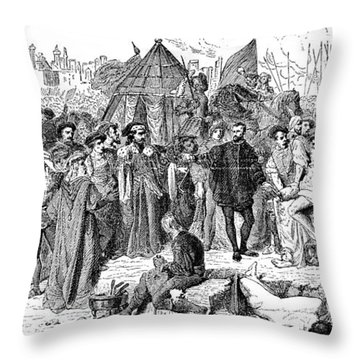 Ambroise Pare (1510-1590) Throw Pillow by Granger