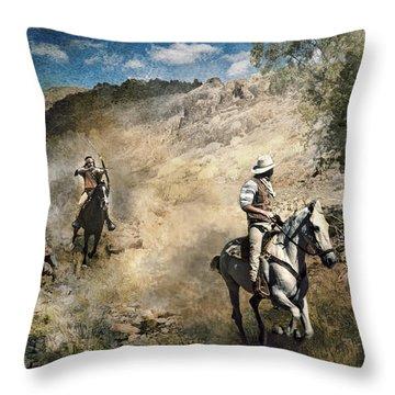 Throw Pillow featuring the photograph Ambush by Brian Tarr