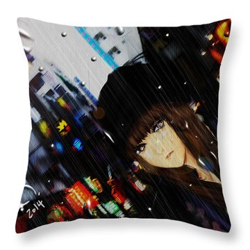 Ame Throw Pillow