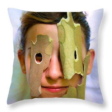 Alejandro Gutierrez Throw Pillows