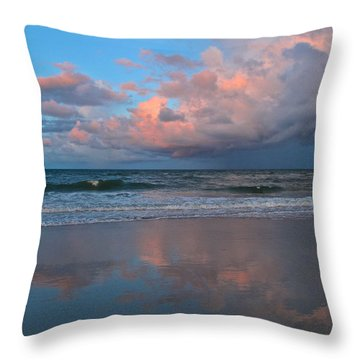 Amelia's Sunset Throw Pillow