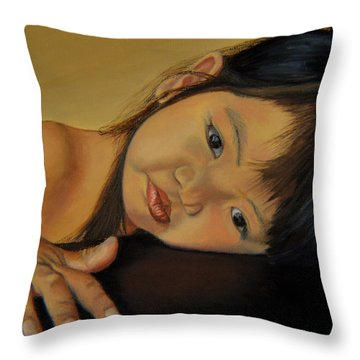 Amelie-an 11 Throw Pillow