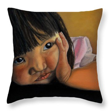 Amelie-an 2 Throw Pillow