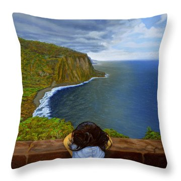 Amelie-an 's World Throw Pillow