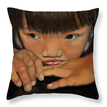 Amelie-an Throw Pillow