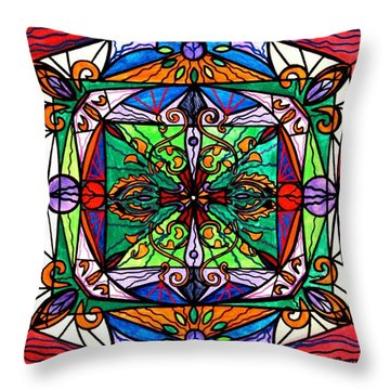 Ameliorate Throw Pillow