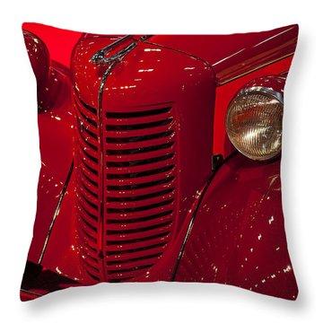 American Bantam Roaster Throw Pillow by Garry Gay