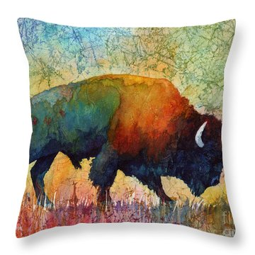 American Buffalo 4 Throw Pillow