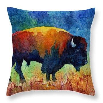 American Buffalo II Throw Pillow