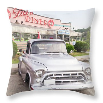 American Classics Throw Pillow by Edward Fielding