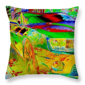 American Dream Throw Pillow by Rogerio Mariani