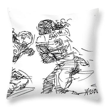 American Football 1 Throw Pillow