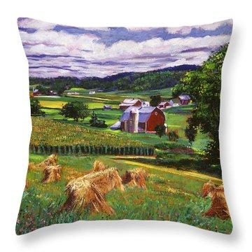 American Heartland Throw Pillow