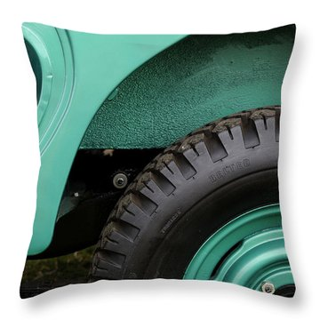 American Heritage Throw Pillow by Luke Moore