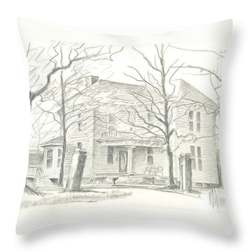 American Home II Throw Pillow by Kip DeVore