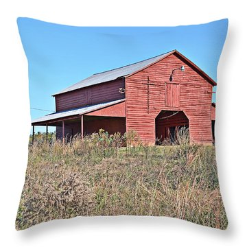 Throw Pillow featuring the photograph American Icon by Linda Brown