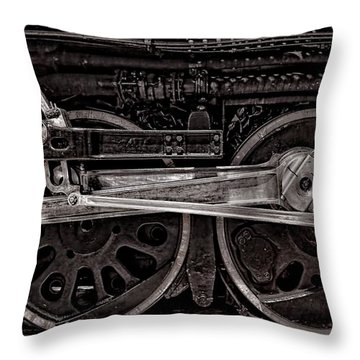 Throw Pillow featuring the photograph American Iron by Ken Smith