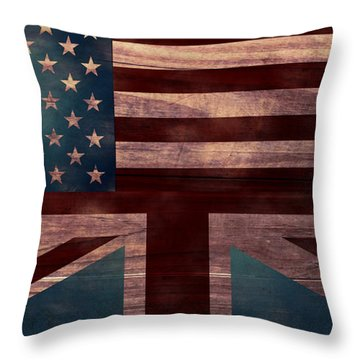 American Jack I Throw Pillow
