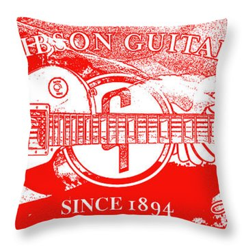 American Legend Red Throw Pillow