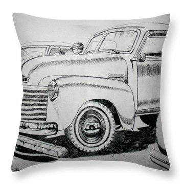 American Made Throw Pillow by Stacy C Bottoms