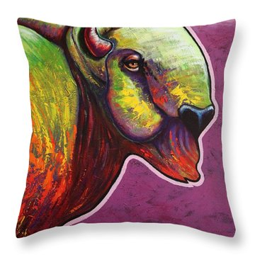 American Monarch Throw Pillow by Joe  Triano