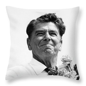 American Optimism Throw Pillow by Steven Huszar
