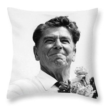 American Optimism Throw Pillow