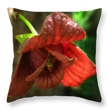 American Pawpaw Throw Pillow by William Tanneberger