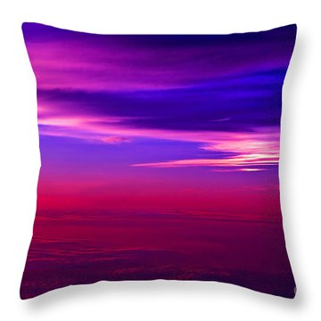 American Sky Throw Pillow