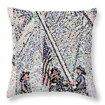 American Spirit Throw Pillow by Alys Caviness-Gober