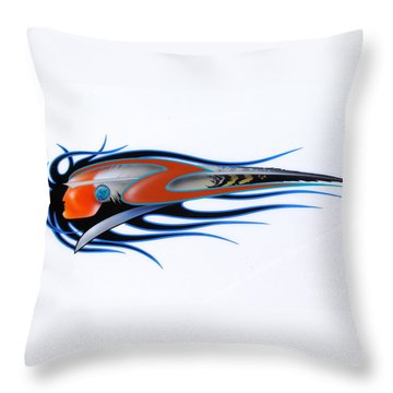 American Sprit  Throw Pillow