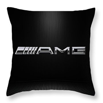 Amg Center Stage Throw Pillow