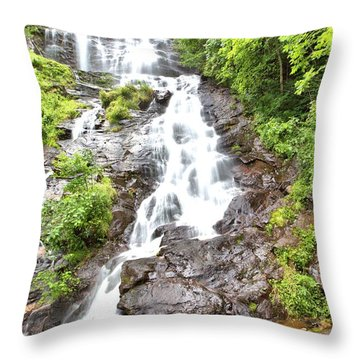 Amicalola Falls Throw Pillow