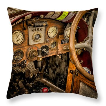 Throw Pillow featuring the photograph Amilcar Riley Special  by Adrian Evans
