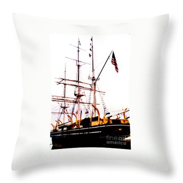 Amistad Throw Pillow by Jesse Ciazza
