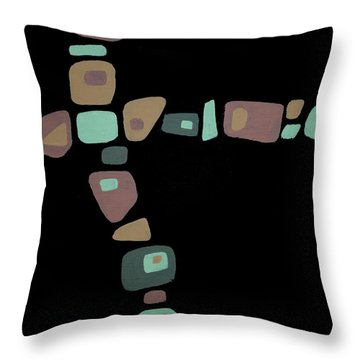 Amoeba 1 Throw Pillow