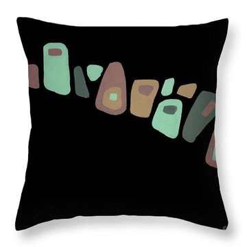 Amoeba 2 Throw Pillow