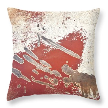 Amoeba  Amoebae Abstract  Square Throw Pillow