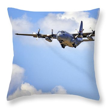 Amongst The Clouds Throw Pillow by Jason Politte