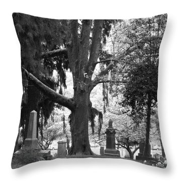 Amongst The Trees Throw Pillow