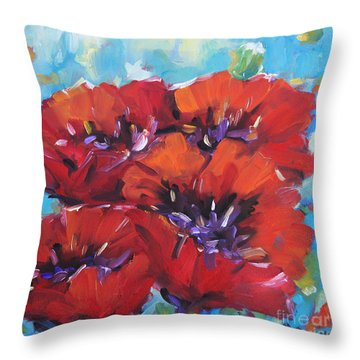 Amore By Prankearts Throw Pillow by Richard T Pranke