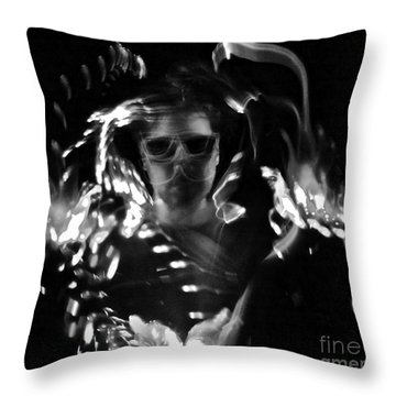 Amorfs Throw Pillow by Xn Tyler