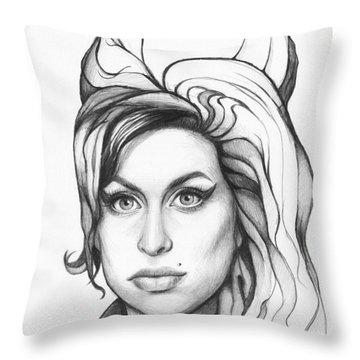 Drawing Throw Pillows